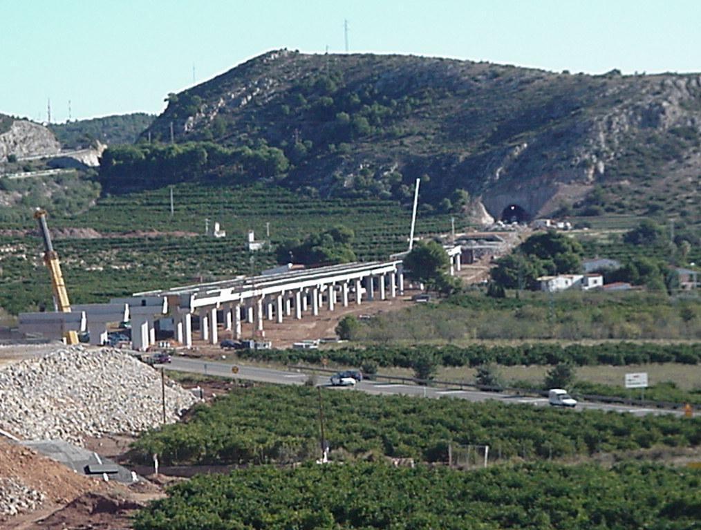 Velocidad Alta Las Palmas-Oropesa (Castellón)