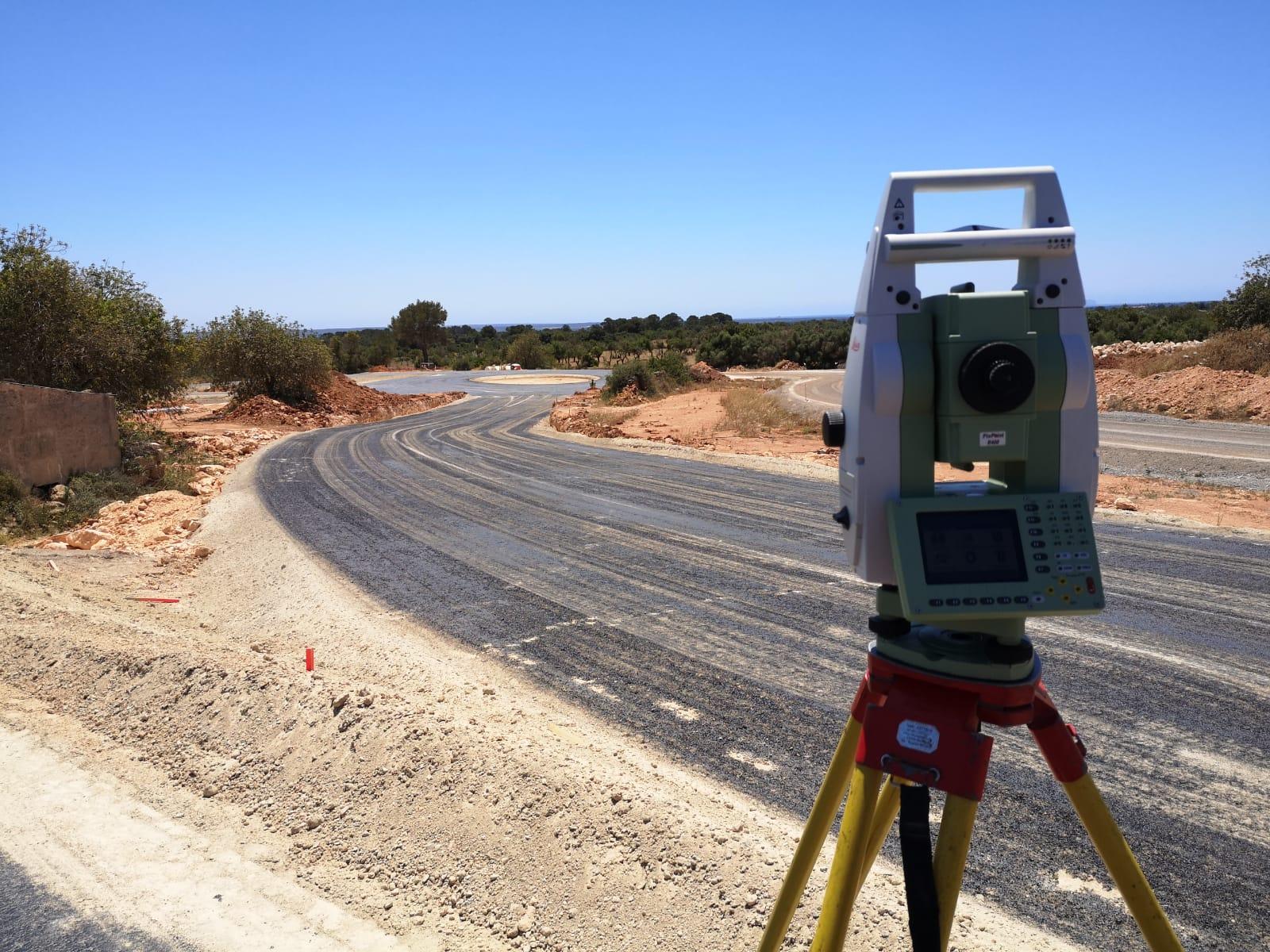Servicio integral de Topografía en la Autovía Llucmajor-Campos