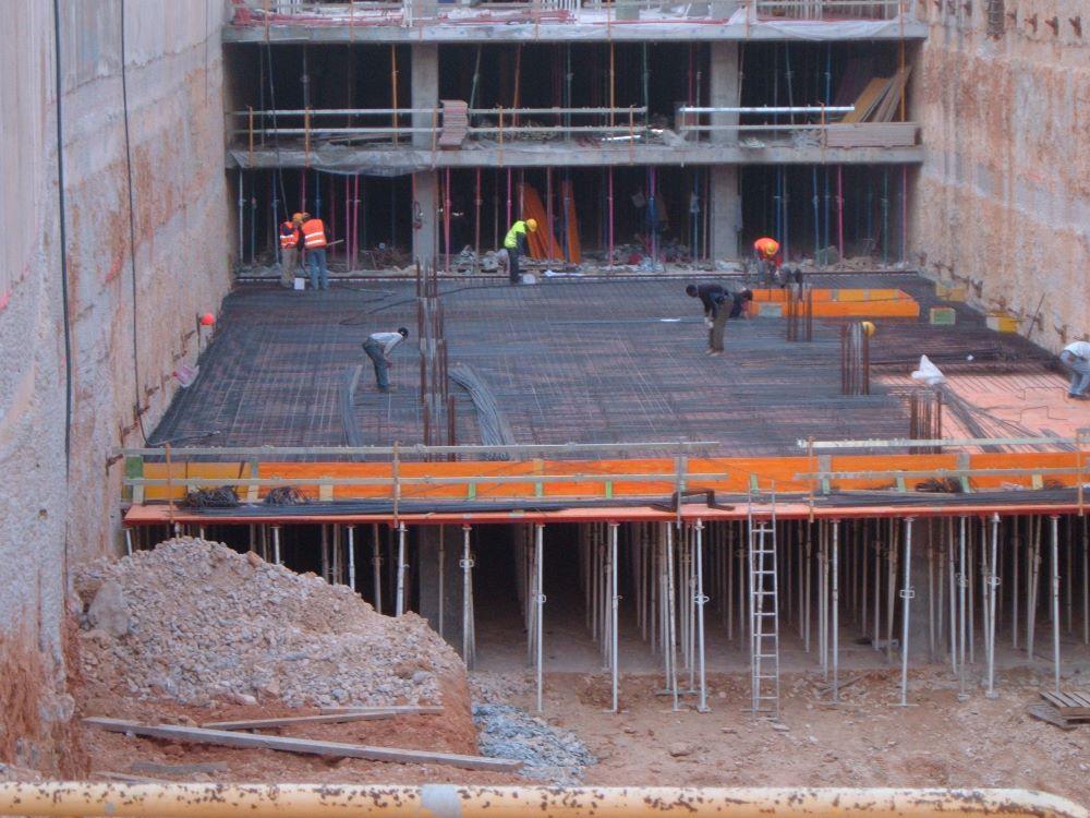 Replanteo estructuras en edificación